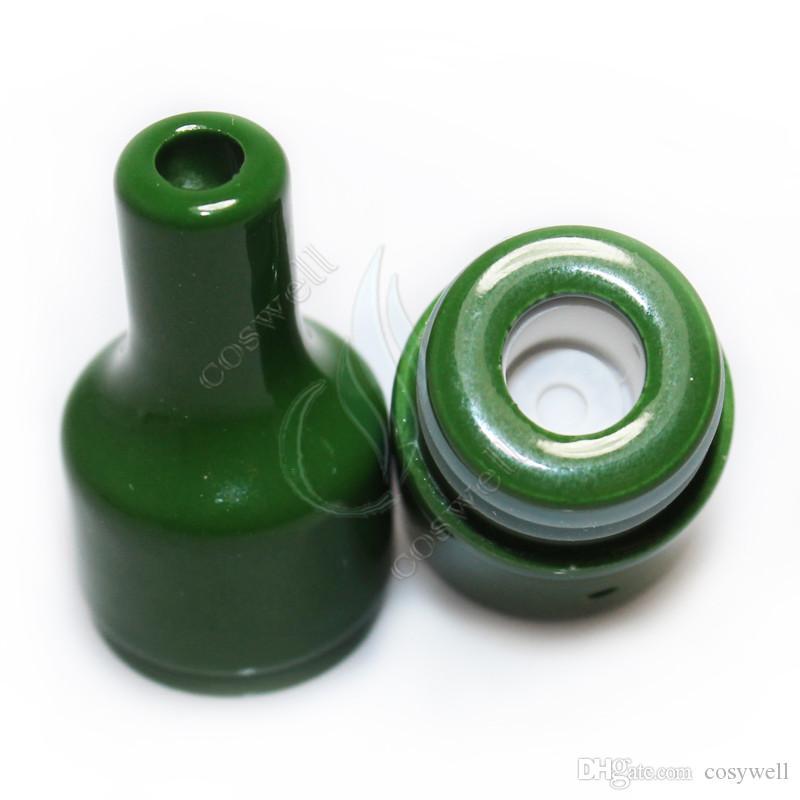 Nuevo Lleno Ceramic Glass Wax Atomizer El Horno RA Huge Vapor Donut atmos wickless Coils Pyrex Herbal hierba seca Vaporizador e cigs vape pluma Tanque