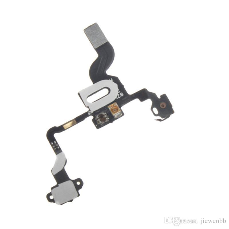 Total New Power Button Flex Cable Ribbon For iPhone 4 4G Proximity Light Sensor Power Switch On / Off Replacement part