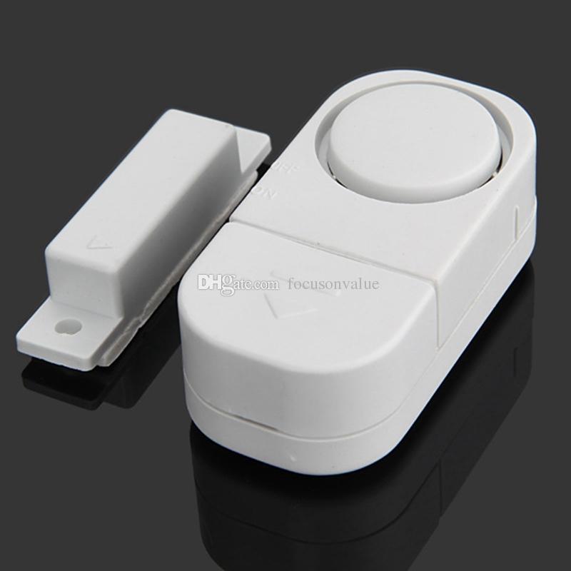 Doorbell Wireless Door Window Sensor Magnetic Switch Entry Burglar Alarm Home Security Alarm Bell Burglar Warning Safety System