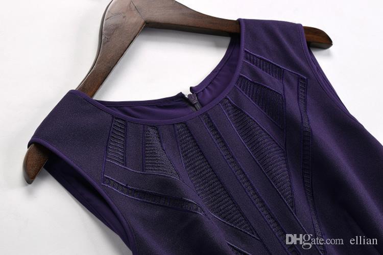 Flor do vintage Imprimir Mulheres A-Line Vestido Com Decote Em V Sem Mangas Vestidos 066A634