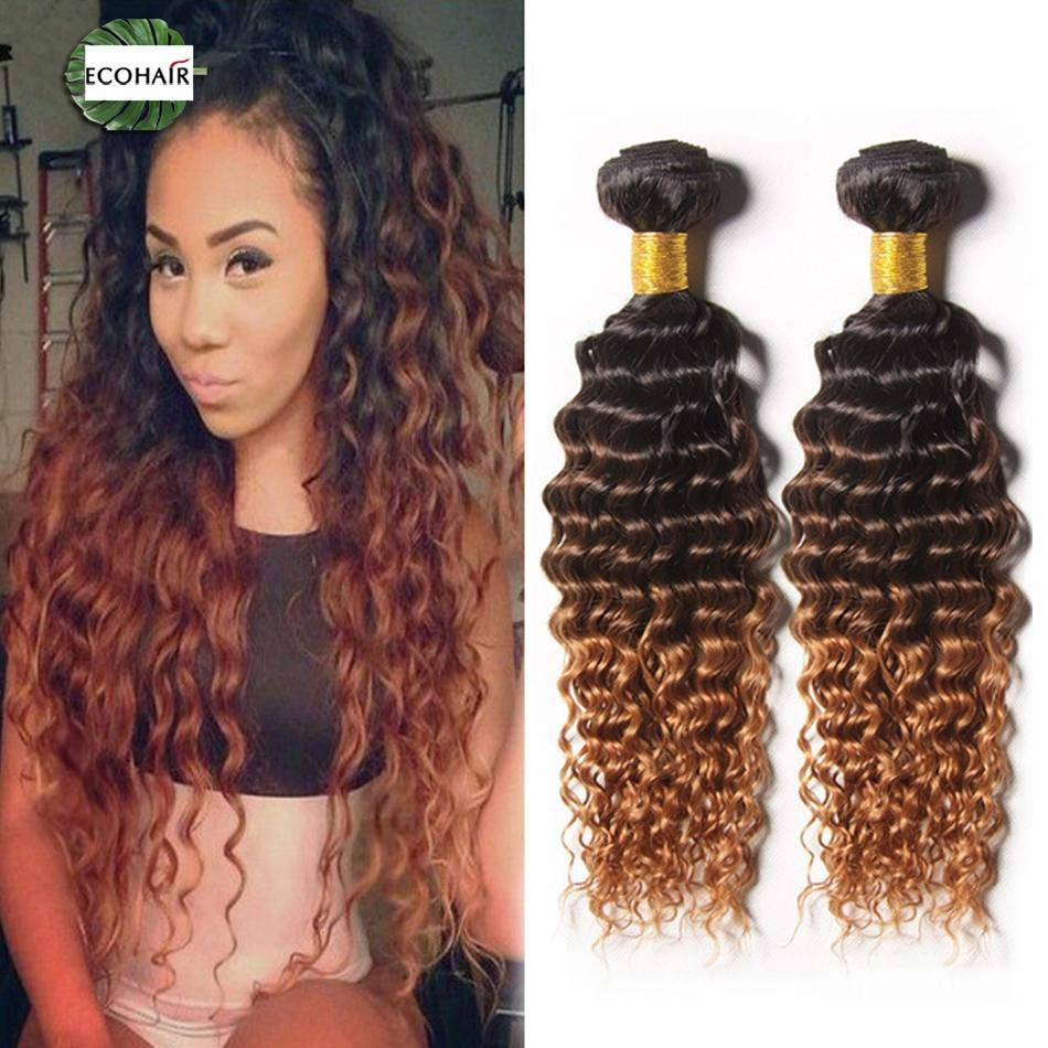 Malaysian Hair Weave Bundles Three Tone Ombre Malaysian Hair Blonde