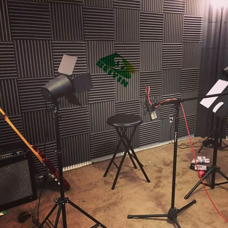 48 ШТ. MusicSound Wedge Acoustic Foam Studio звукопоглощение Плитка Звукоизоляция Звукоизолирующие Панели Звукоизоляция Огнезащитные 12X12X1