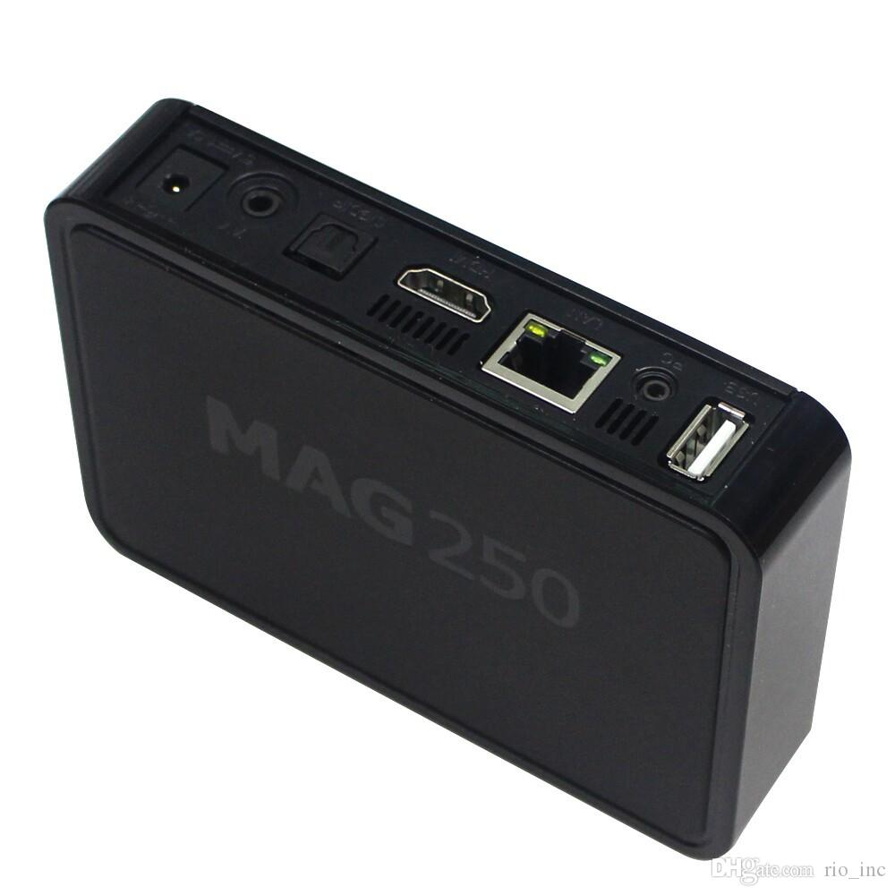 Android Box Mag 250 IPTV Android Smart TV Box Video Channels Set Top Boxes STB Google Internet Quad Core Media Player VS Mag250