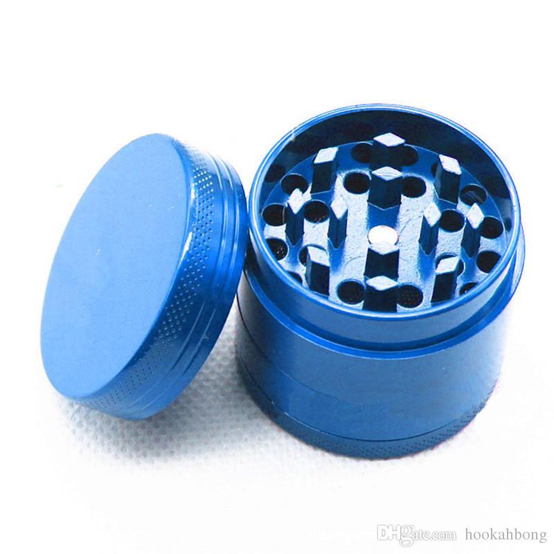 Herb Rrinder Muti Smerigliatrice fumo colorata Taglia smerigliatrice in metallo CNC Smerigliatrice di tabacco 4 parti Disegni mix