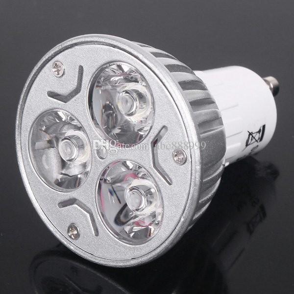 L'alto potere GU10 E27 GU5.3 E14 3x3W 9W del riflettore della lampadina del CREE LED 85 ~ 265V Lampadina Downlight