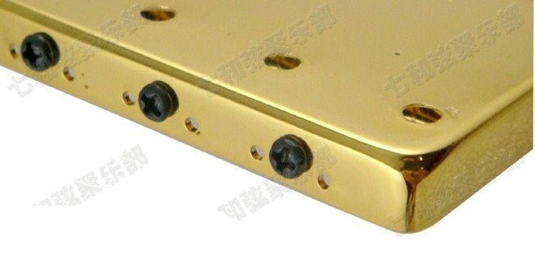T02 золотой цвет гитарные струны мост седло Hardtail мост верхней нагрузки электрогитара мост гитарные партии аксессуары