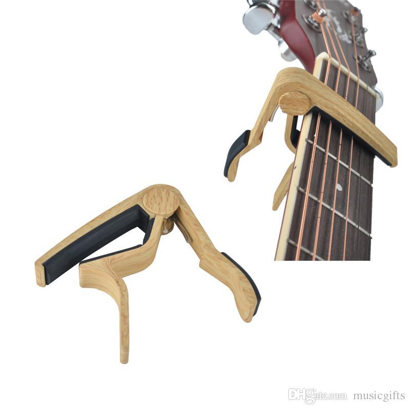 6-سلسلة الغيتار الصوتية كابو مفتاح المشبك كليب على الغيتار كابو