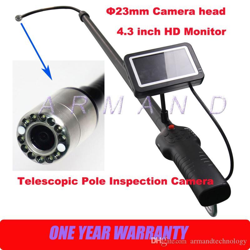 Industrial Telescoping Light Pole: Telescopic Pole Inspection Cameras Carbon Fiber Light