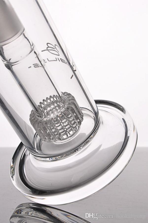 Pipes Mobius Matrix Percolator Bong água Vidro Bubbler enxugando Rigs Fumar narguilé frete grátis