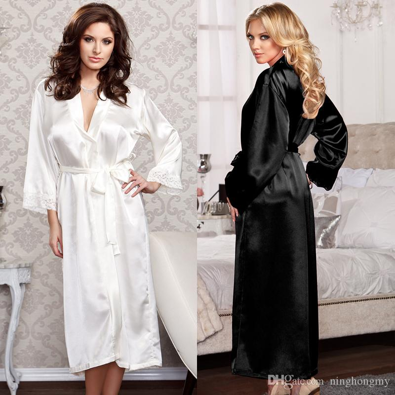 5678948a14 2019 Women Japanese Nightgown Women S Nightwear Sexy Sleepwear For Women  Lingerie Sleepshirt Sleeping Thong Kimono Nightdress Robe Sets Plus Size  From ...