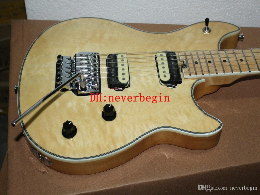chitarra all'ingrosso dalla Cina migliore OEM chitarra recenti 6 stringhe di colore naturale della chitarra elettrica Strumenti musicali Top HOT