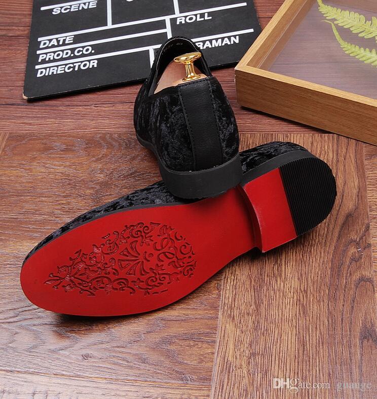 Nuevo estilo de lujo de los hombres del zapato de los holgazanes negros de cuero de los hombres zapatos casuales marca cómoda moda otoño transpirable hombres zapatos Z176