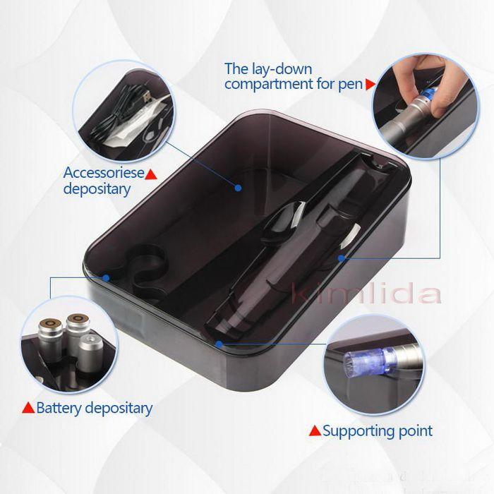 Le plus récent stylo Derma haute qualité Dr.pen Ultima A6 Auto électrique Micro aiguille stylo 2 piles rechargeables méso Dermapen