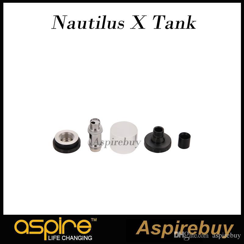 Aspire Nautilus X Sub Ohm Réservoir 2ML Atomiseur avec Nautilus X U-Tech 1.5ohm Bobine U-Tech Système à très faible profil 100% Original