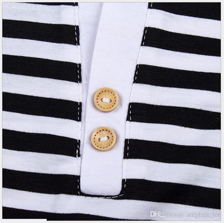 Boys Girls Summer Clothing Sets 2016 New Children 100% Cotton Short Sleeve Stripe T-shirt+Pants Set Kids Sport Casual Suit Child Outfit