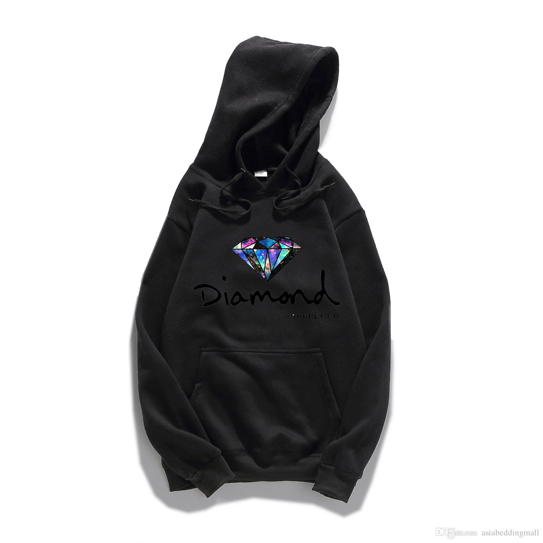 Fornecimento de diamante co Hot Fashi na primavera dos homens do outono Moletom Com Capuz pulôver spo WY-8081rtswear hip hop camisola de fornecimento de diamantes co hoodies