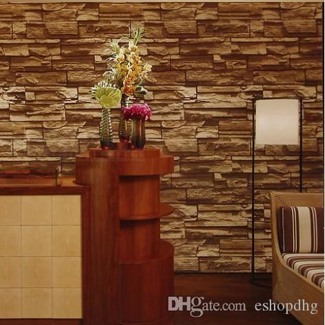 Vintage 3d wallpaper modern design dining room pvc for 3d wallpaper for dining room