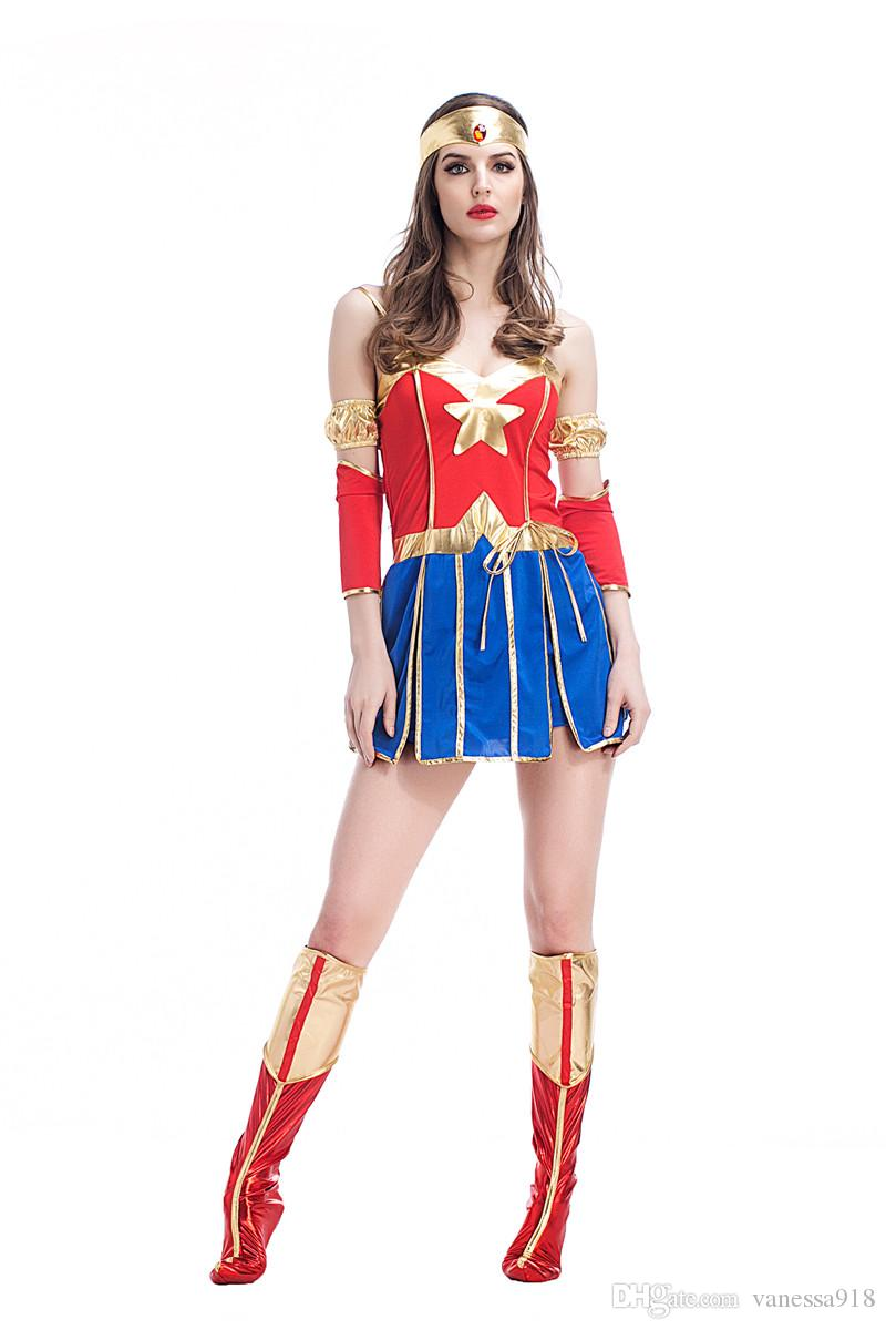 Adult Supergirl Costume Woman Superhero Cosplay Thor Costumes Girls Party Gown Clothes Free Size Wholesale Ps053 Costume Party Themes List Group Halloween ...  sc 1 st  DHgate.com & Adult Supergirl Costume Woman Superhero Cosplay Thor Costumes Girls ...