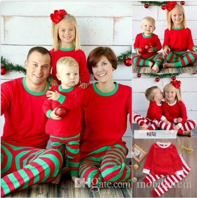 Christmas Boutique Clothes Paternity Suit Pajamas Mom And Daughter Long  Sleeved Stripes Family Matching Outfits Baby Kids Clothing 1739 Sibling  Matching ... - Christmas Boutique Clothes Paternity Suit Pajamas Mom And Daughter