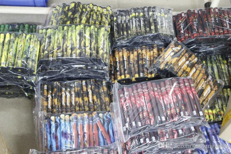 E ShiSha Hookah Pen Disposable Electronic Cigarette Pipe Pen Cigar Fruit Juice E Cig Stick Shisha Time 500 Puffs Colorful DHL