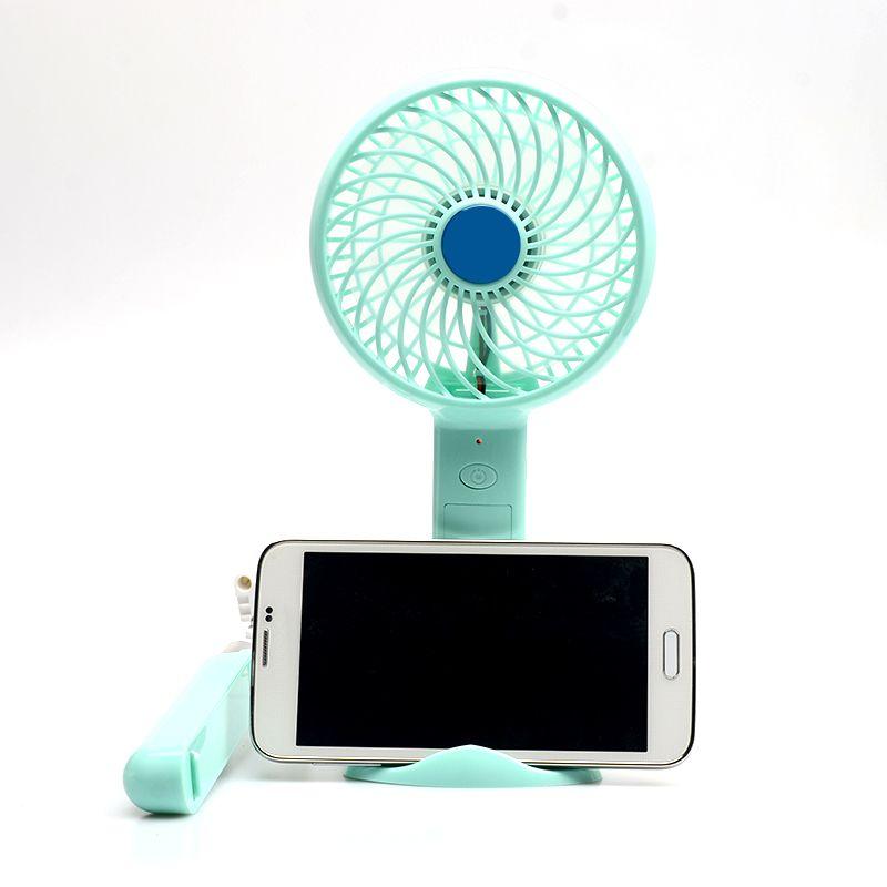 Banque de puissance multifonctionnelle portative de C16 + fan de mini USB + support de support de téléphone + bâton de Selfie 4 dans 1 batterie 18650 à l'intérieur