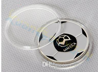 soccer football Throw choose pick edge finder coin toss referee side coin Judge Flipping Professional soccer Match Supplies