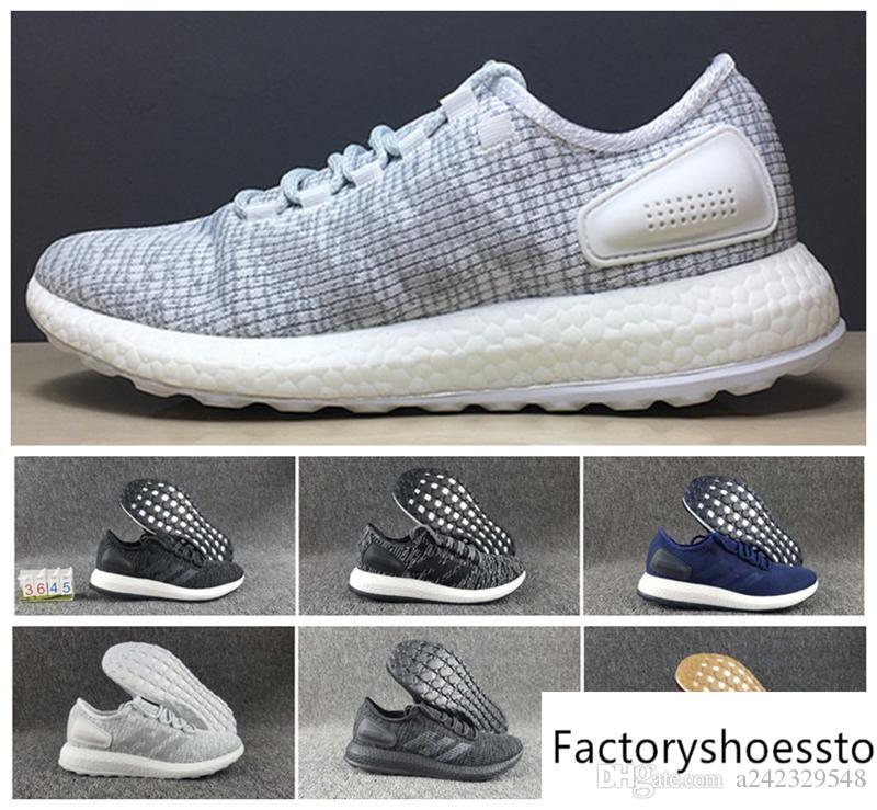 2017 Pure Boost Primeknit 2.0 Running Shoes Men Women Fashion Jogging  Outdoors Athletic Shoes Sport Shoes Size 36 44 Best Womens Running Shoes  Running Shoes ... bc9e47968924