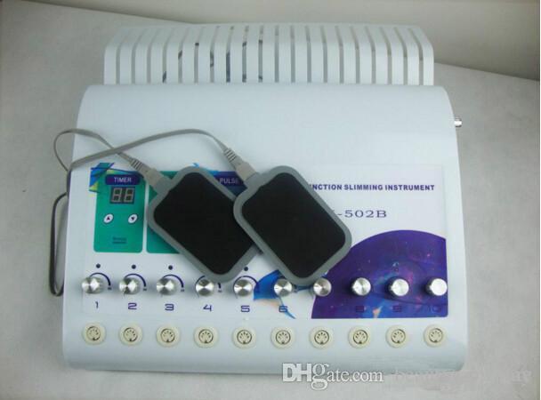 TM-502B 2 in1 러시아 파 파 라딕 근육 자극 장비 원적외선 난방 전기 근육 자극기 ems 물리 치료 장비