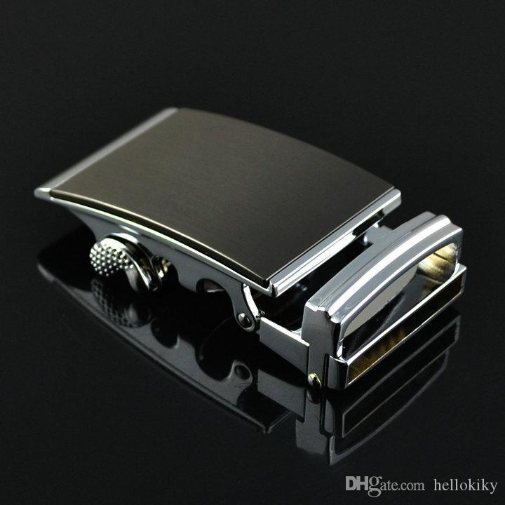 1PCS Black Gold Silver Automatic Buckle for Belt