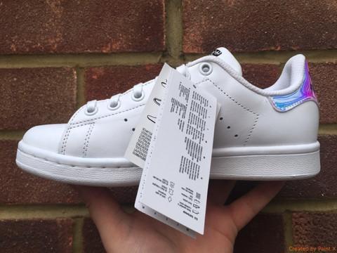Acheter Stan Smith Irisé, Sneaker Stan Smith Pour Les Femmes Et Les Hommes, Chaussures Casual Stan Smith Livraison Gratuite De $59.19 Du Sneakerdeal ...