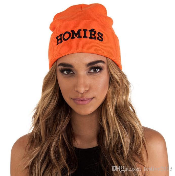 2018 best quality men Homies beanie black color fashion knit beanies snapback hats caps streetwear hat cap
