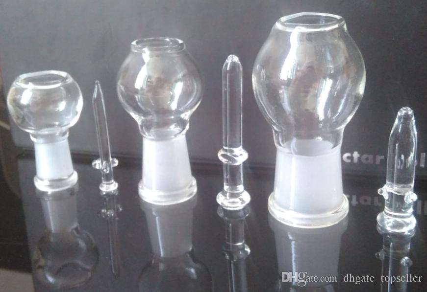 wholesale glass dome and nail oil rig dabber glass bubbler water pipe glass domes smoking female male 14mm 18mm