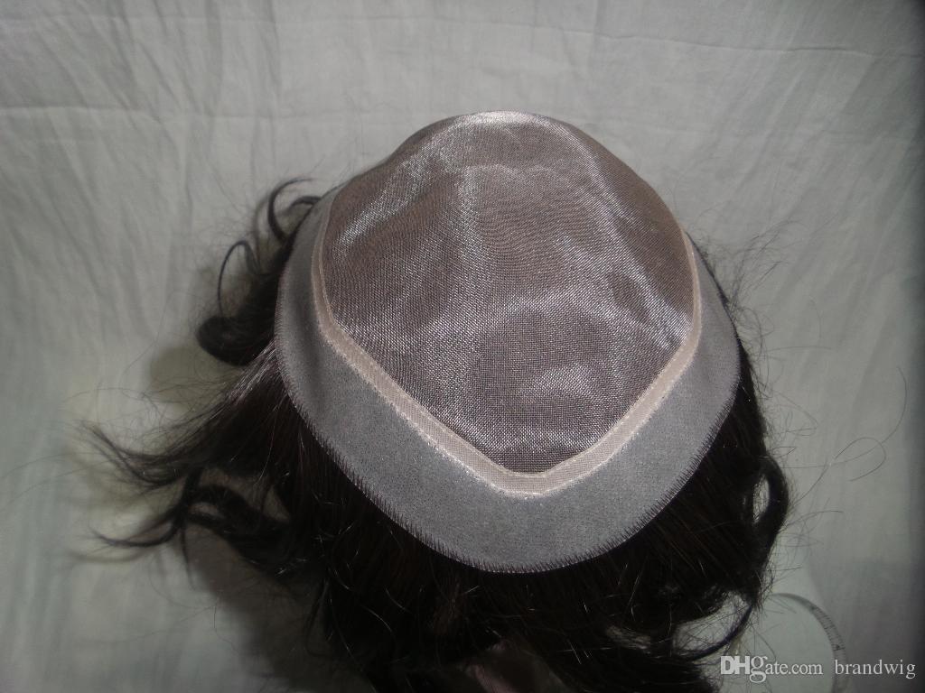 Kabell Kigs erkek Moda Peruk Çin Saç 100 İnsan Saç Tam dantel Dikişsiz Kurucu İsteğinize Göre Özelleştirilebilir Freship