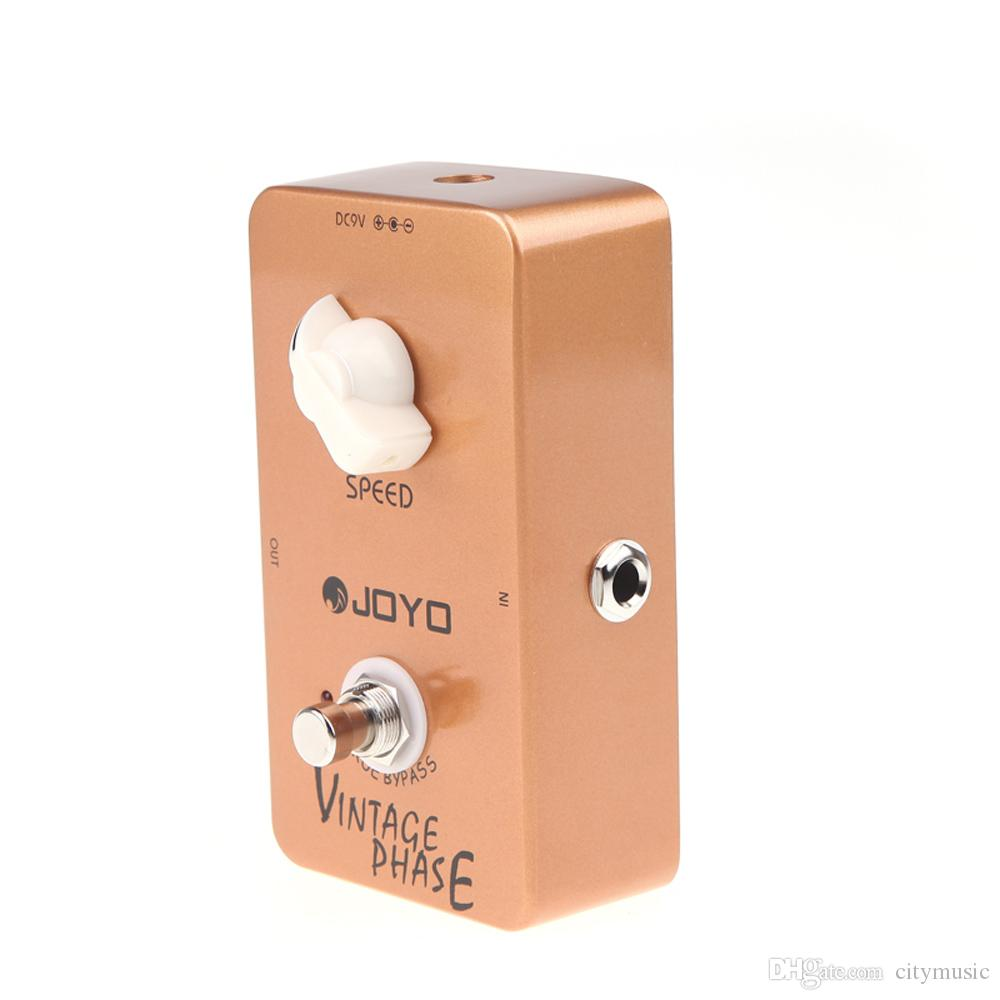 Envío gratis JOYO JF-06 Pedal de efecto de guitarra eléctrica Vintage Phase True Bypass JF 06