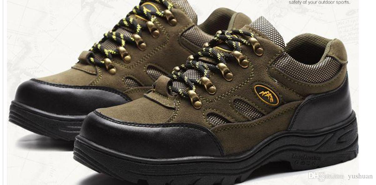 Safety Shoes Men Shoes Steel Toe Caps And Winter Break Resistant To