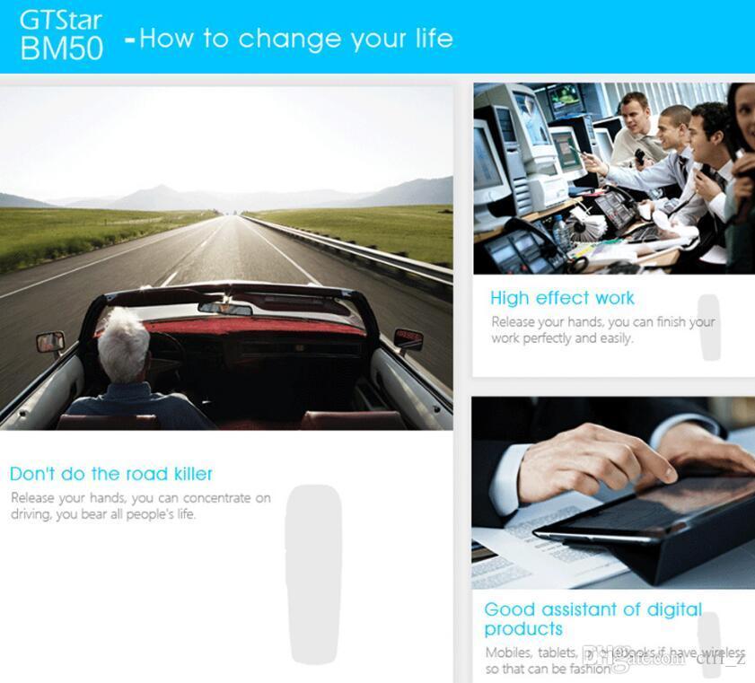 GTSTAR BM50 Mini Smart Business GSM Mobile Phone Bluetooth Earphone Headset 24MB+32MB Backlight Dialer for iPhone Samsung Huawei