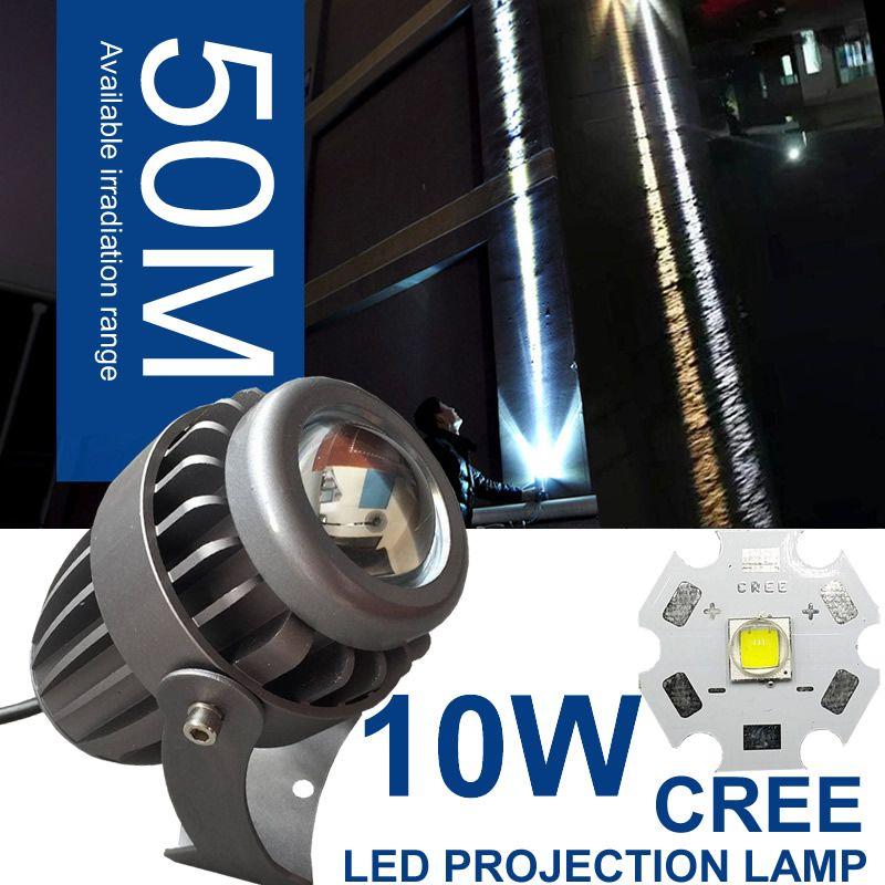 Outdoor LED Spotlight Waterproof Narrow Beam Angle LED Floodlight Spot Lamp