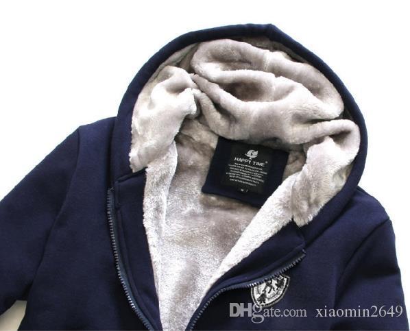 Frete Grátis Hoodies dos homens de Inverno Dos Homens Jackkets Macho Treino de Lã Grosso Masculino Camisola Casuais Dos Homens Casacos