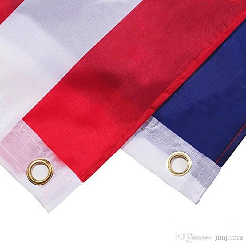 90 * 150 cm BlueLine USA Polizei Fahnen 3x5 Fuß Dünne Blaue Linie USA Flagge Schwarz, Weiß Und Blau Amerikanische Flagge Mit Messingösen 50 stücke