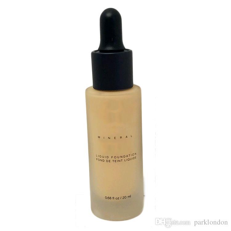 2017 Unique Touch Mineral Liquid Foundation Base de maquillaje profesional a prueba de agua facial corrector líquido es envío gratis