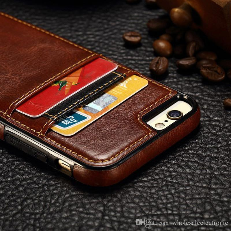 Business Style Luxury Leather Case For Apple Iphone 6 6s Cover ...
