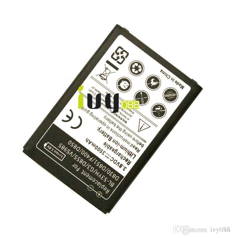 3500mAh BL-53YH Replacement Battery For LG G3 D855 F400 F460 D830 VS985 D850 D851 D855 D858 D859 LS990 Batteries Batteria