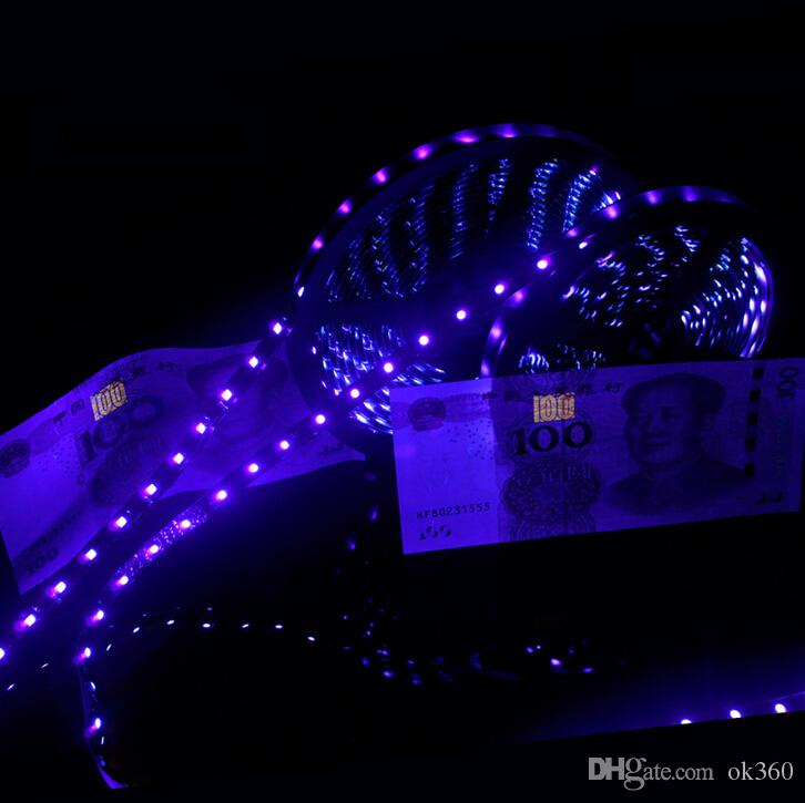 Uv purple led strip light 5050 smd 60ledm dc 12v waterproof 395 uv purple led strip light 5050 smd 60ledm dc 12v waterproof 395 405nm ultraviolet ray flexible strip tape ribbon battery operated led strip addressable rgb aloadofball Images