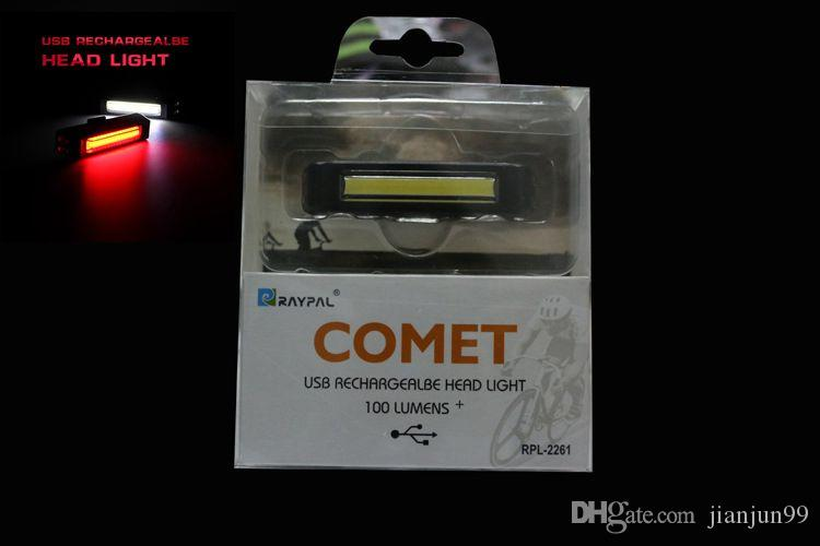 comet lighting. Comet USB Rechargeable Head/ Tail Light COB High Brightness Red LED 100LM Cycling Bicycle Front/Rear Bike Safety Warning Lights Taillight Lighting
