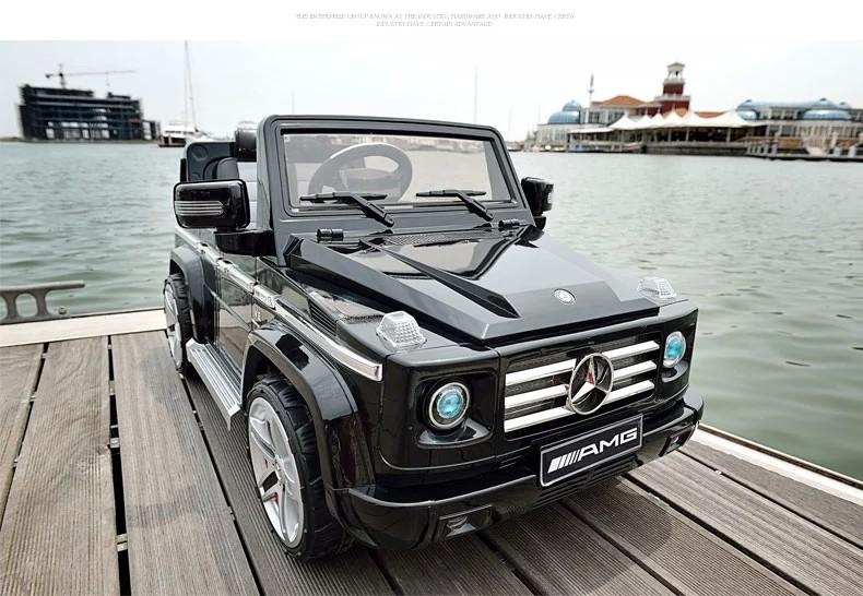 old mercedes benz g55 children electric car for kids ride on with remote control and music car baby children giftbaby car
