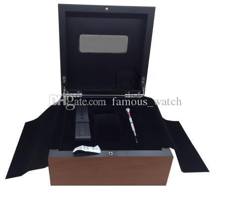 Factory Supplier Wholesale Mens For Watch Box Original Wooden Inner Outer Woman's Watches Boxes Papers Wristwatch