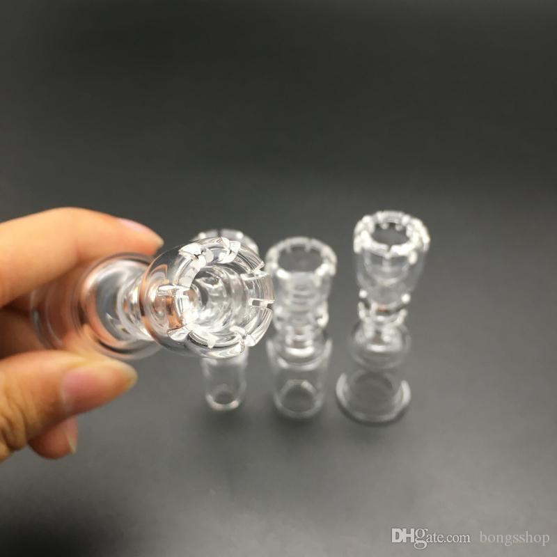 Daisy Style Domeless Raucher Quarz Nagel 14mm 18mm Weibliche Männliche Klargelenk Titan Nails Schüssel Für Wachs Öl Rigs Glas Bongs