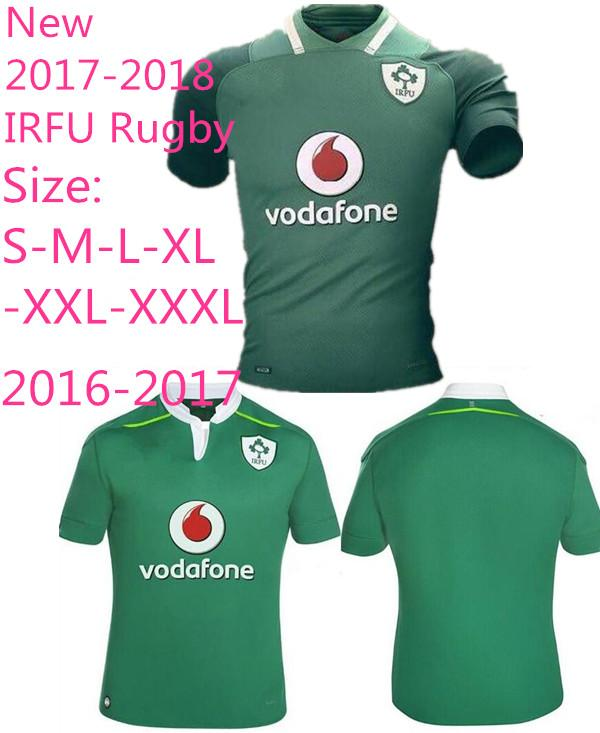 100% authentic c9949 0f7ee 2016-2017 Leinster rugby jerseys 2017-2018 Ireland Rugby Jersey league  Leinster away Irish rugby shirts top quality jerseys Size S-3XL