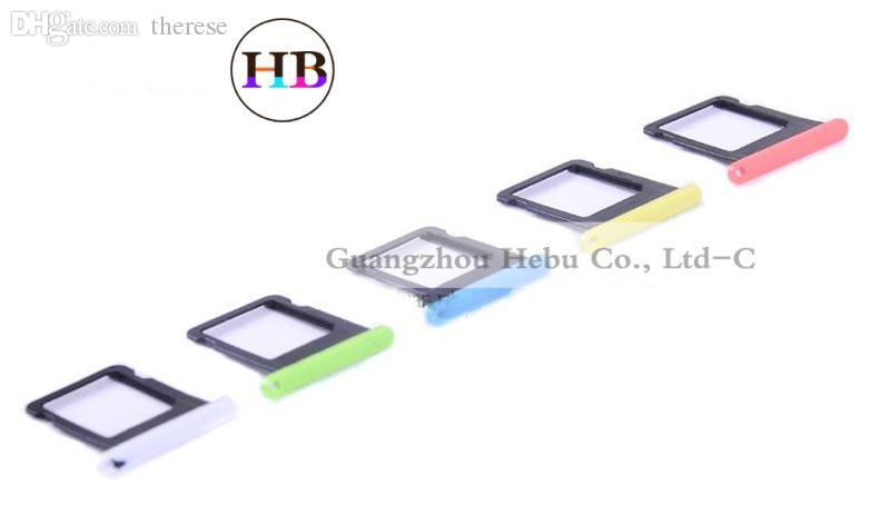 9c04e64297745f Wholesale For Apple Iphone 5C Sim Card Tray Holder Fix Repair Replacement  For Iphone 5C Sim Tray Colorful Sim Tray Standard Sim To Micro Sim Cutter  Microsim ...