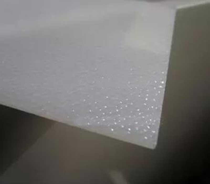 Compre 2mm * 300mm * 300mm Acrílico Blanco Plexiglás Seguridad ...